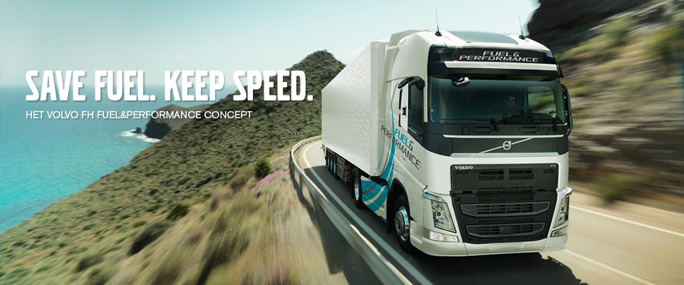 Volvo Trucks Nederland introduceert nu het Fuel&Performance Concept